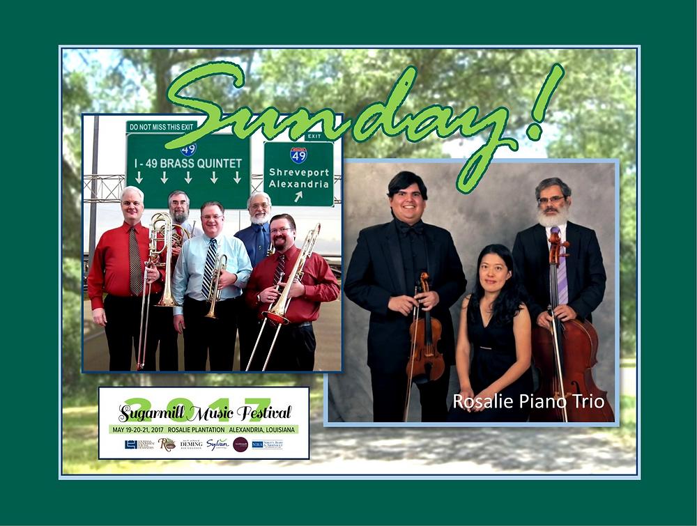 The I-49 Brass Quintet will premiere Costas Dafnis
