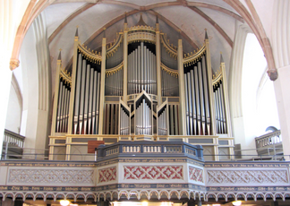 Organ of the Marienkirche (Wittenberg, Germany)