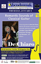 Romantic Sounds of Classical Guitar Post
