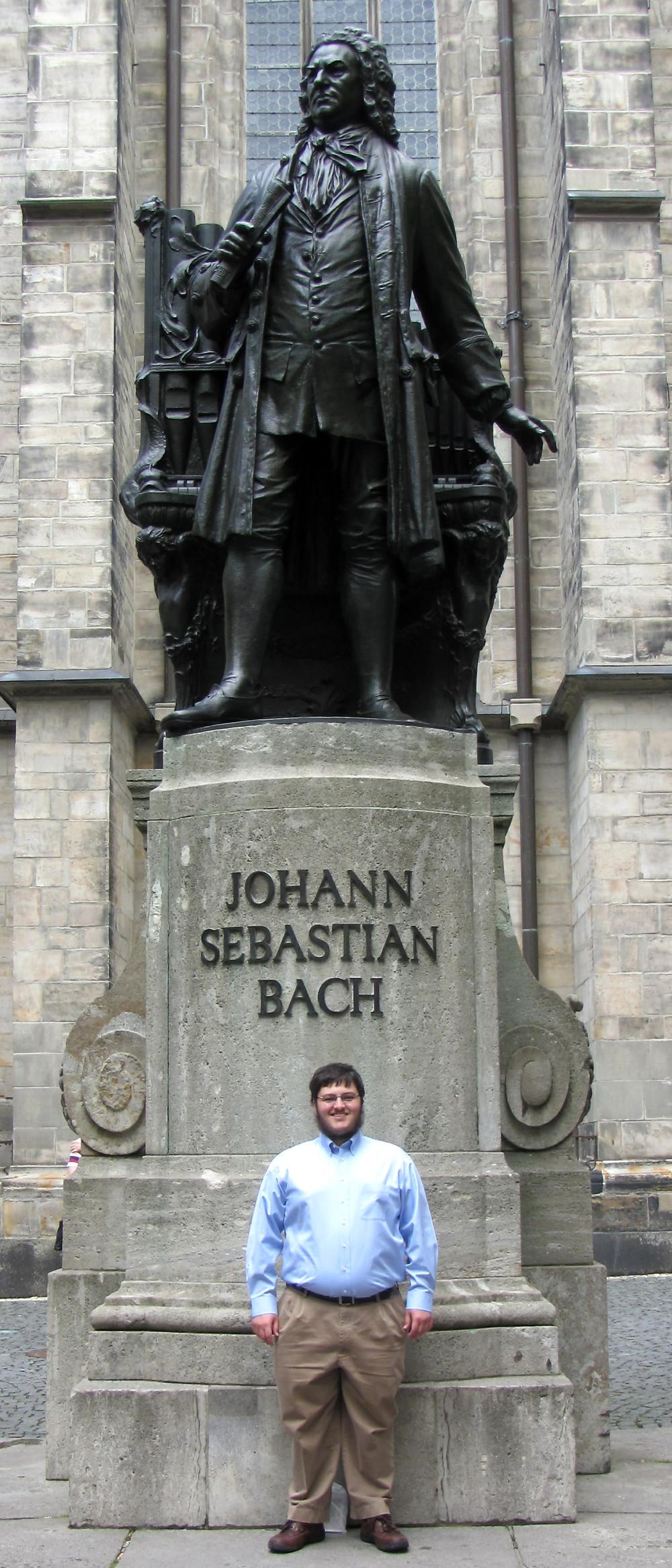 Jackson Leipzig Bach Statue