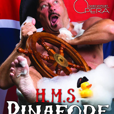 66. Shreveport Opera to Stage Gilbert and Sullivan's H.M.S. Pinafore this Saturday, February 20