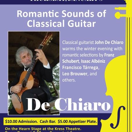 40. Romantic Sounds of Classical Guitar with John De Chiaro