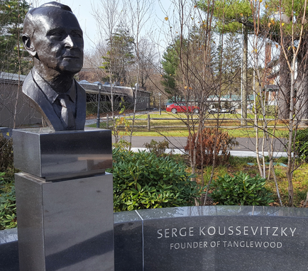 Koussevitzky Bust at Tanglewood (Lenox, MA)