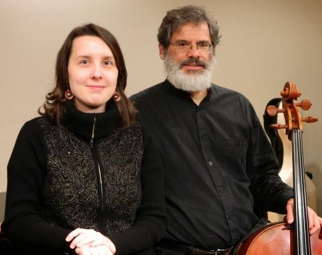 Elena Bogaczová and Paul Christopher