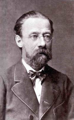 Bedrich Smetana (1824-1884) is often regarded as the father of Czech music.