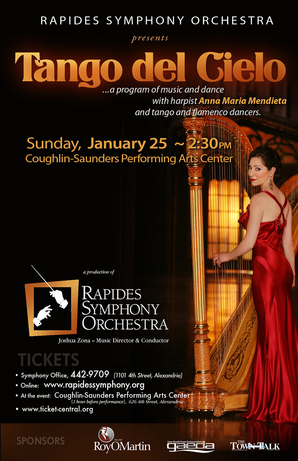 © Rapides Symphony Orchestra 2015
