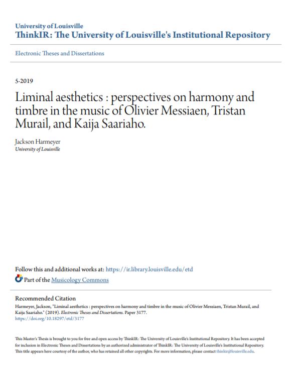 Jackson Harmeyer Thesis Liminal Aesthetics