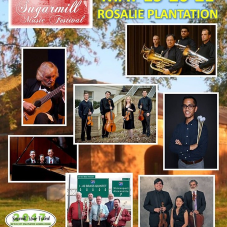 86. Looking Forward to the Second Annual Sugarmill Music Festival, May 19-21