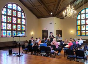 Sacred Harp Singing in Richmond Kentucky