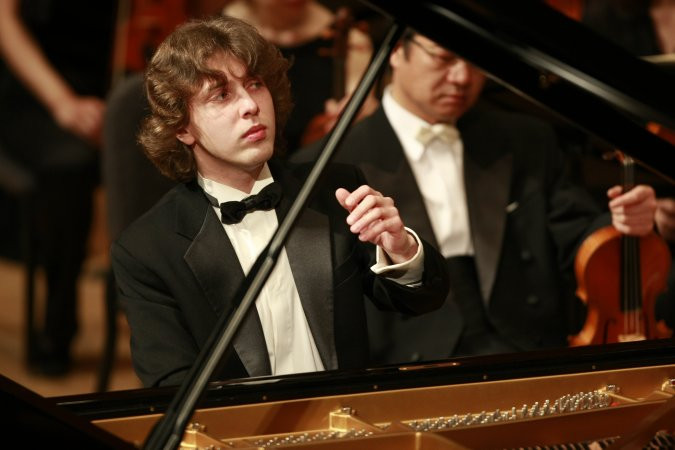 Pianist Pavel Gintov