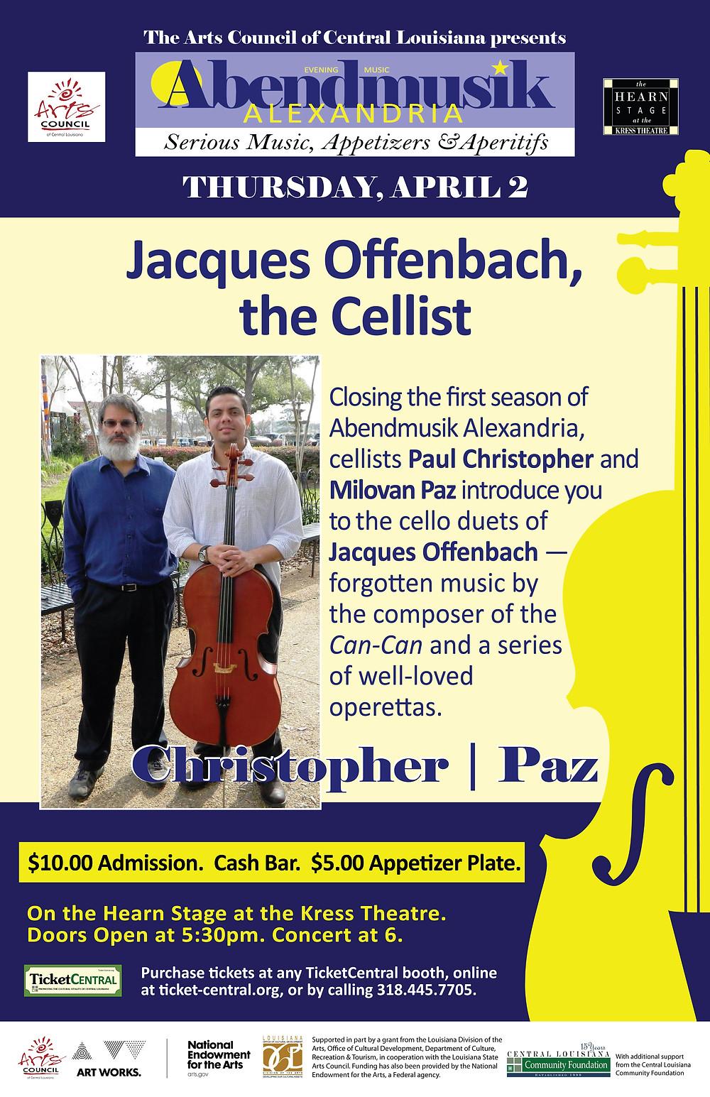 Jacques Offenbach Abendmusik Alexandria