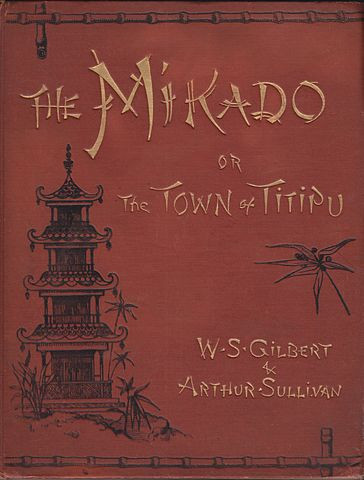 Mikado Poster Gilbert and Sullivan