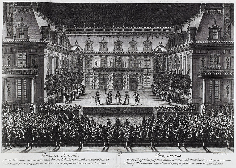 Lully's Alceste at Versailles