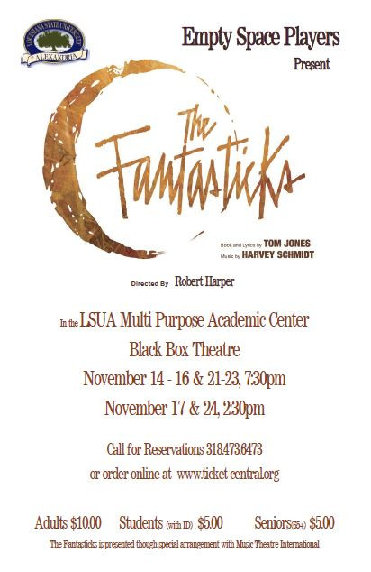 Empty Space Players present The Fantasticks