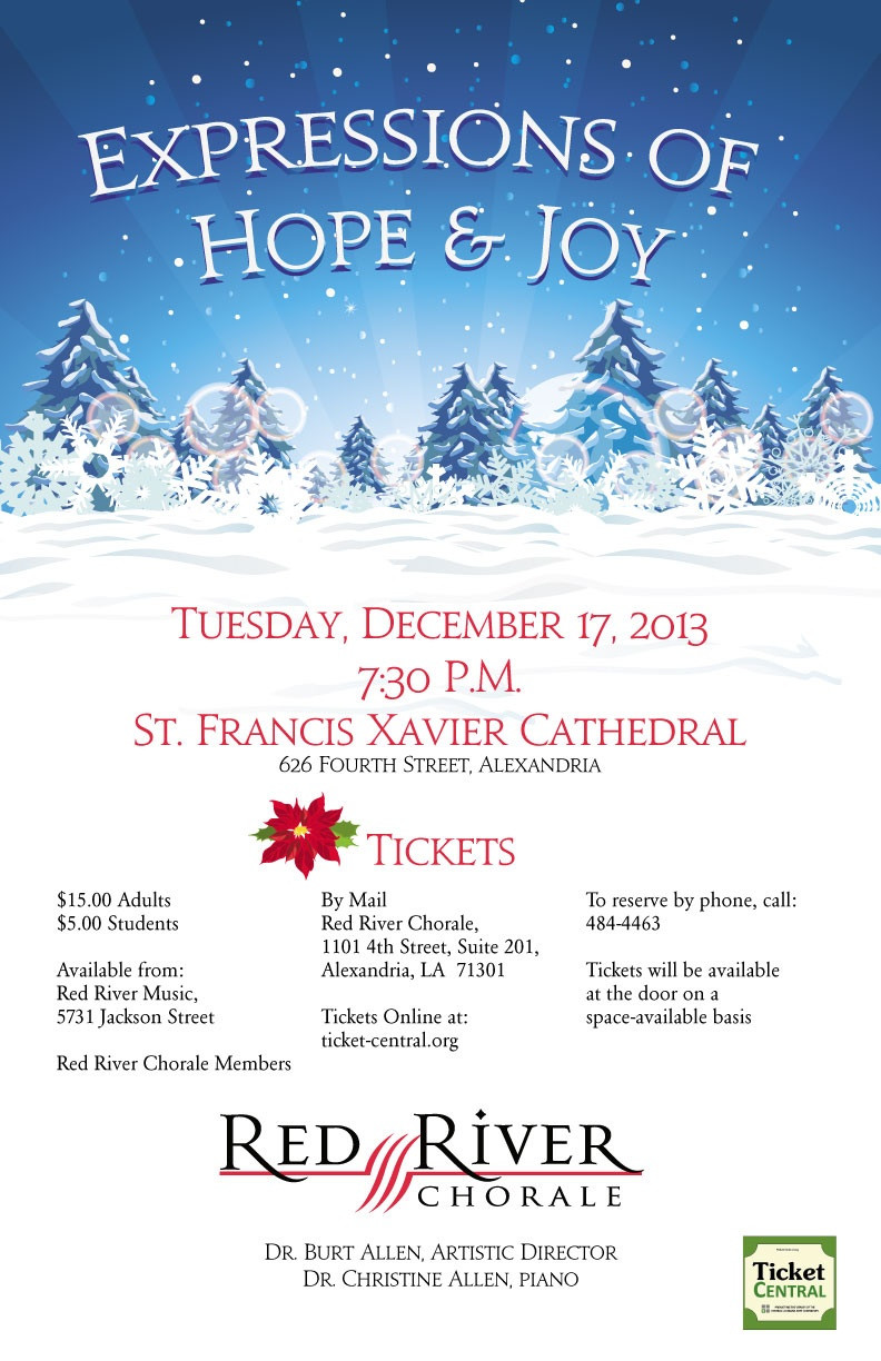 Red River Chorale Expressions of Hope and Joy