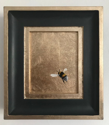 RESERVED Moon-Gold Bumble 1