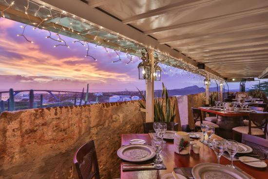 Restaurant Fort Nassau, Curacao
