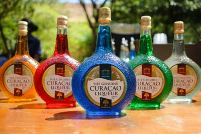 Blue Curacao Liqueur, The One and Only Genuine, Original, and Authentic