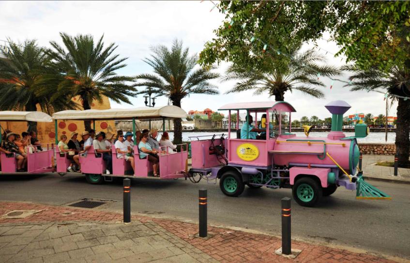Trolley Train Curacao