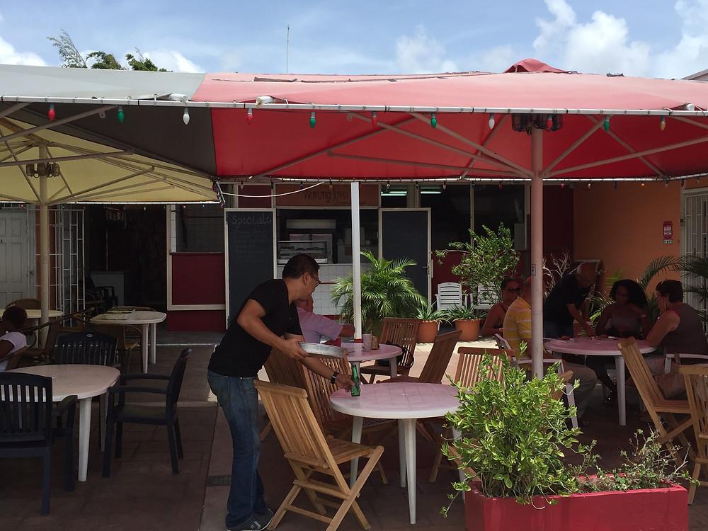 Warung Jawa Surinam restaurant in Curacao