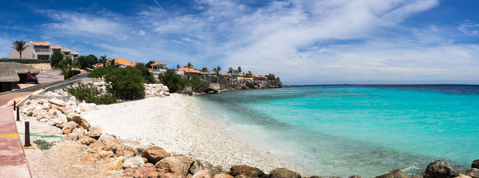 Relax at the beach and cool down in the crystal clear water of the Caribbean Sea