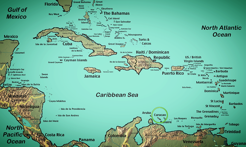 Where is Curacao located