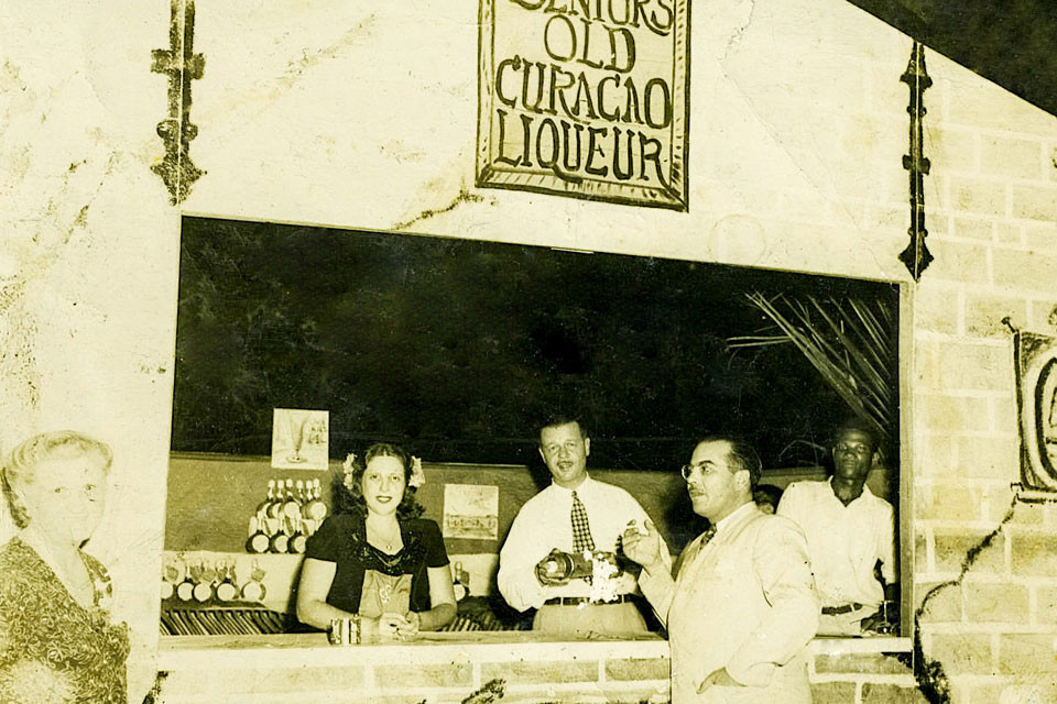 History Curacao liqueur