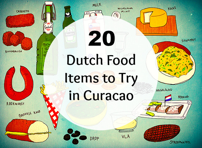 Dutch food in Curacao