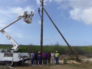 WEB Bonaire had their electrical people certified again in June/September