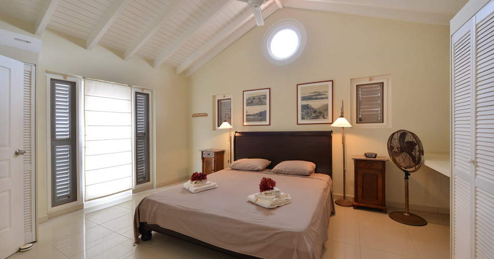 Four luxurious, private bedrooms await