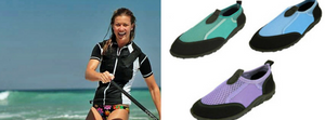 Rash guard shoes & watershoes, packing for Curacao