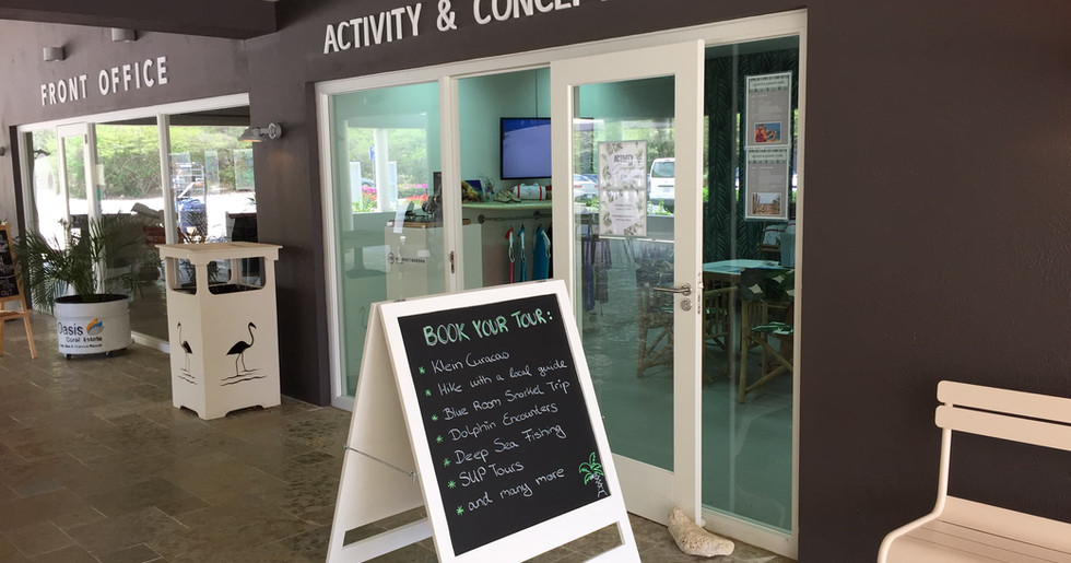 Activity and concept store