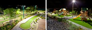 Brakkeput Mei Mei, mini golf and kids playground