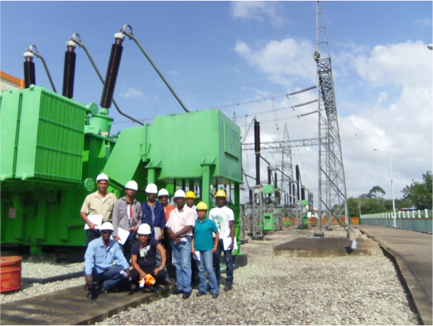NV EBS, The Surinam National Electricity Company adapts the