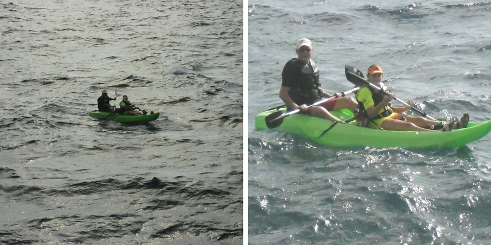 Kayaking with children