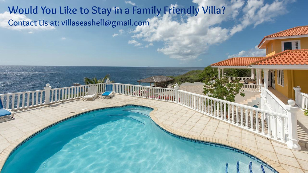Family vacation at Villa Seashell Curacao