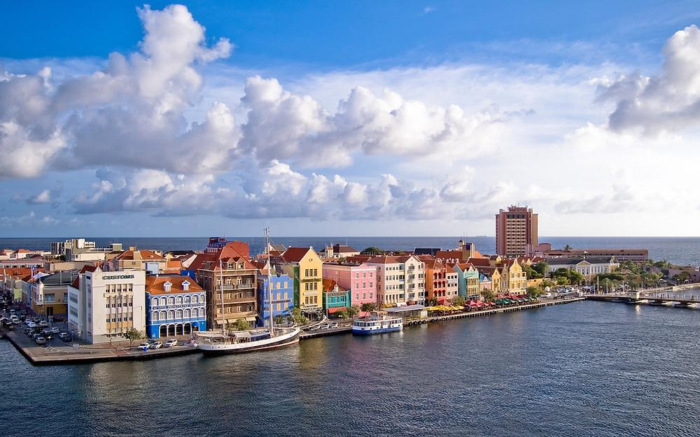 Willemstad, Curacao island