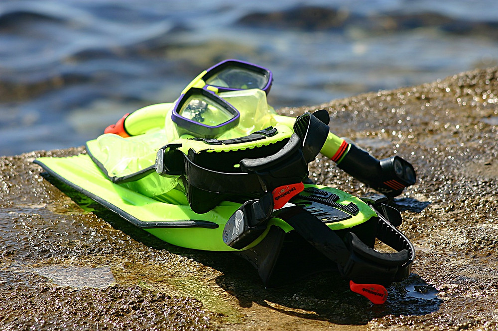 Snorkel gear, packing for Curacao