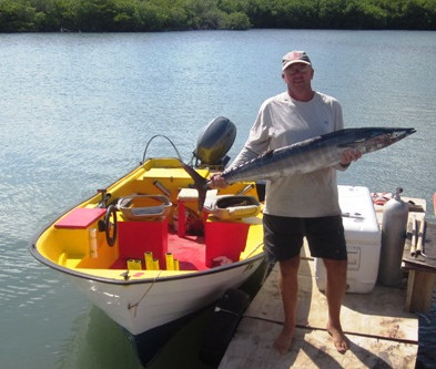 Catching Big Fish in Curacao