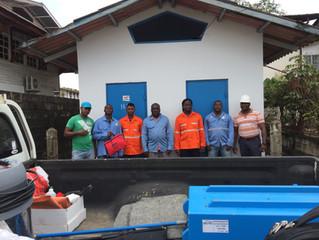 Reinigen onder Spanning Suriname EBS