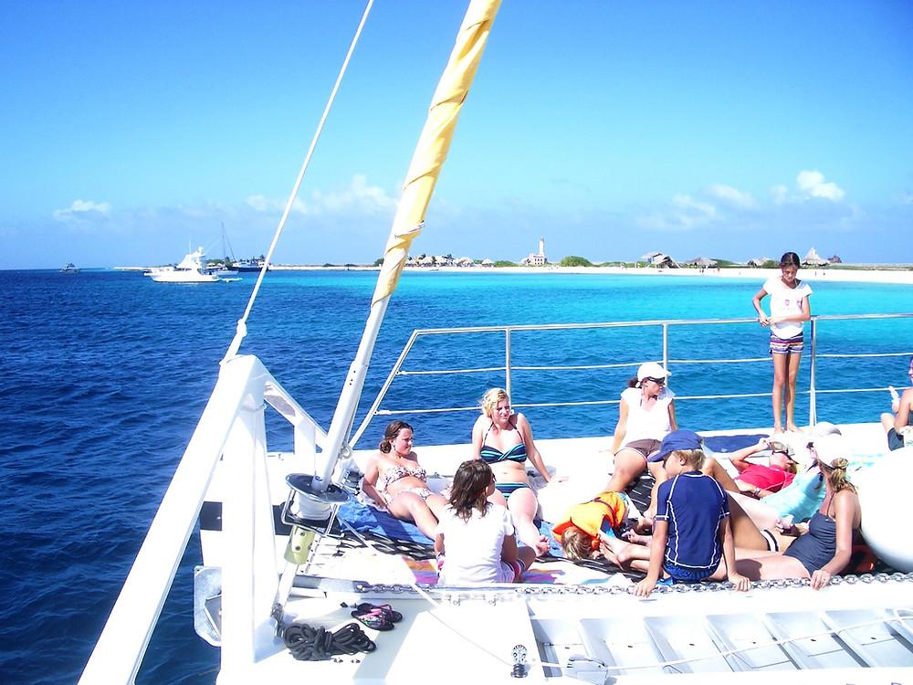 Boat excursions Curacao