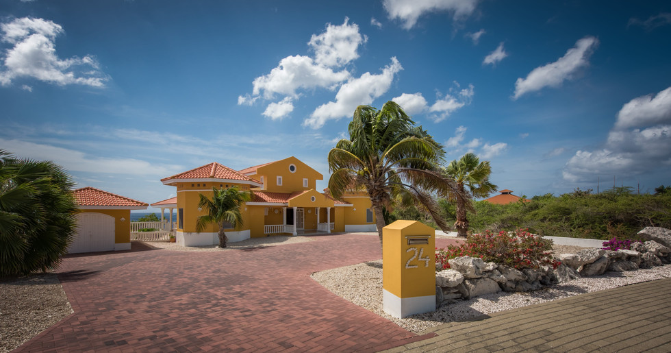 Villa Seashell, your oceanfront vacation rental at Coral Estate, Curacao