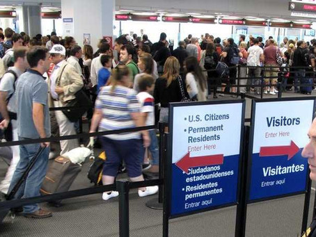 Skip the Lines at U.S. Customs when travelling back from Curacao.