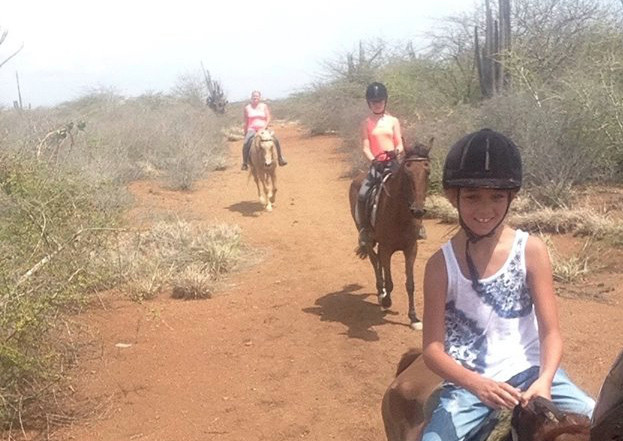 Horseback riding Curacao