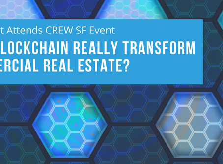 """Waypoint Attends CREW SF Event """"Will Blockchain Really Transform Commercial Real Estate?"""""""