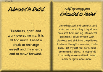 How to Shift Your Energy from EXHAUSTED to RESTED