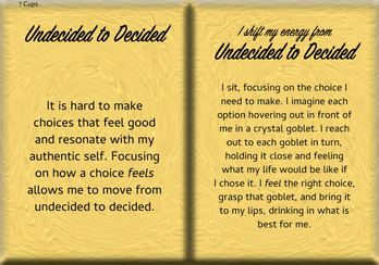 How to Shift Your Energy from UNDECIDED to DECIDED