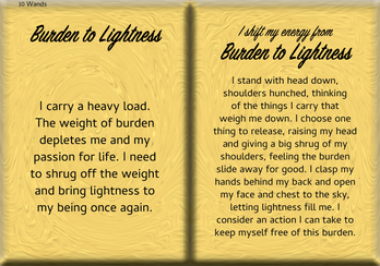 How to Shift Your Energy from BURDEN to LIGHTNESS