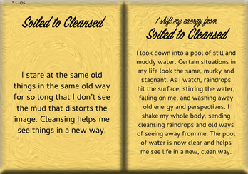 How to Shift Your Energy from SOILED to CLEANSED