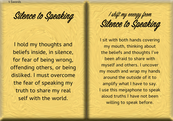 How to Shift Your Energy from SILENCE to SPEAKING